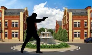 Стрельба, угрозы и раскрытие личных данных: что происходит в подмосковном ЖК «Вяземское»