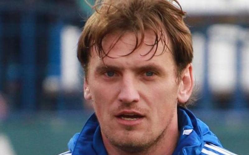 Футболист Дмитрий Булыкин