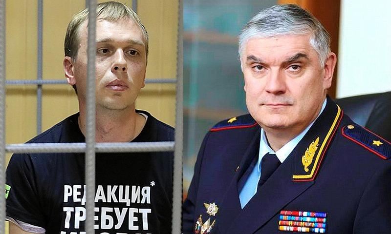 Полицейские встали на защиту генерала, которого хотят уволить из-за дела Ивана Голунова. Силовика называют «гениальным»