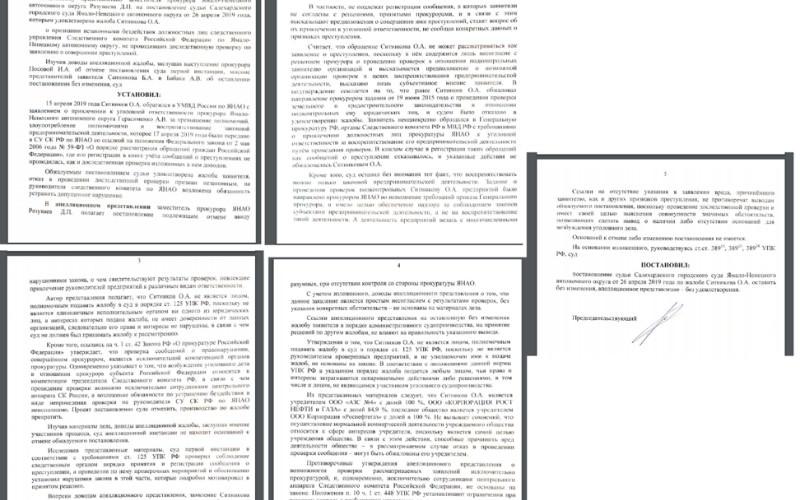 Помощник полпреда президента упрекнула надзорные органы Ямала в «кошмаривании бизнеса»