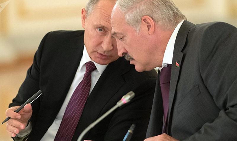 Путин опроверг слухи об объединении России и Белоруссии