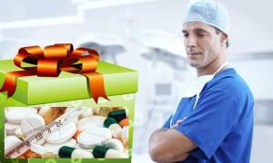 В Забайкалье медикам на профессиональный праздник подарили таблетки от поноса