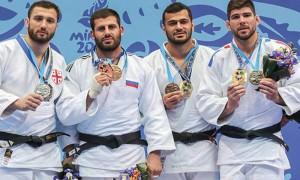 Сборная России по дзюдо выиграла