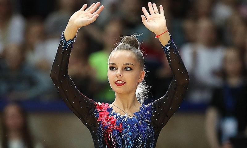 Арина Аверина выиграла чемпионат России по художественной гимнастике и многоборью