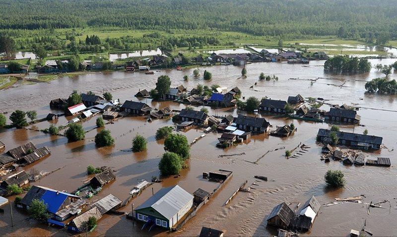 Наводнение в Иркутской области: в зоне бедствия 3 тысячи домов