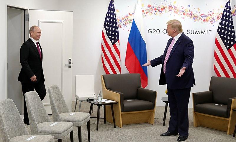 Трамп назвал Путина прекрасным парнем