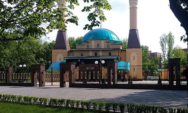 Украинские военные обстреляли мечеть в Донецке из миномета