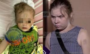 В Петербурге пьяная мать искусала и избила детей