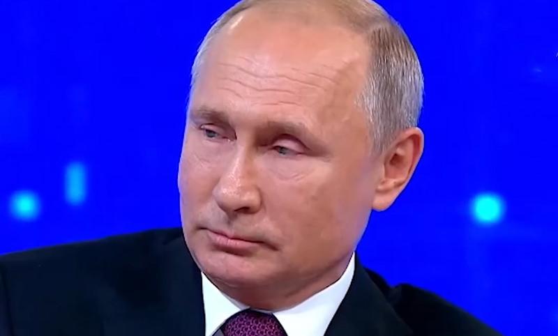 В конце Прямой линии Путин рассказал, за что ему стыдно