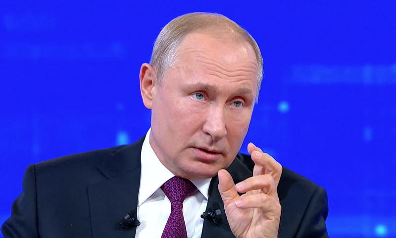 Путин согласился с тезисом, что россиянам