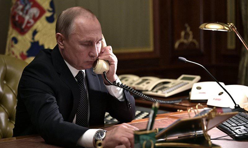 Путин поговорил с Зеленским