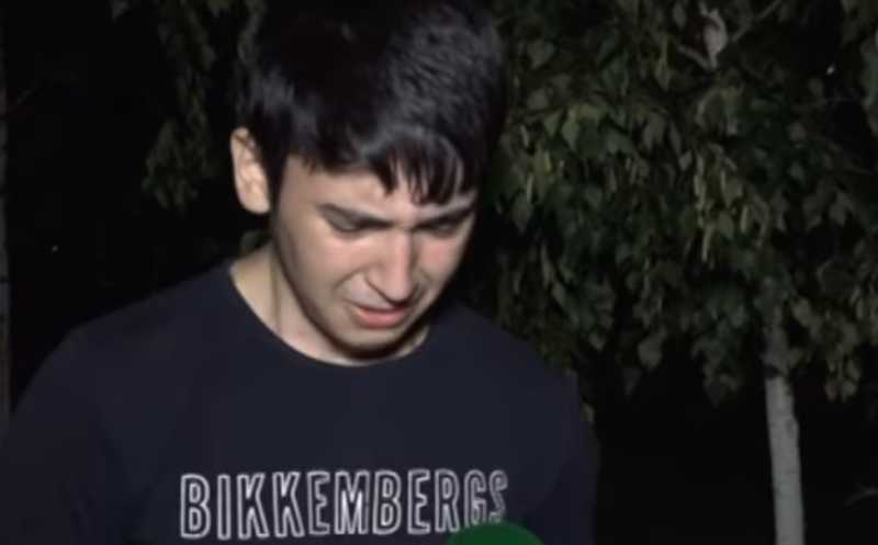 Чеченский подросток почти час плакал и извинялся в прямом эфире