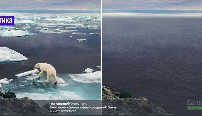 Greenpeace напугало фотографиями