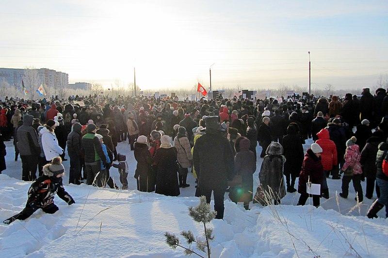 «Поморье не помойка!» - в крупнейших городах и посёлках Архангельской области прошли массовые митинги против строительства мусорного полигона на станции Шиес