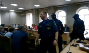 В Чите сотрудника МЧС задержали на совещании в мэрии