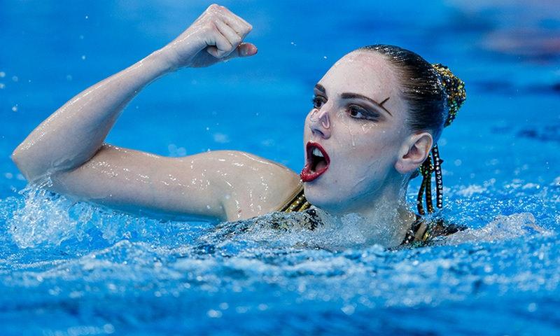 Синхронистка Светлана Колесниченко выиграла чемпионат мира