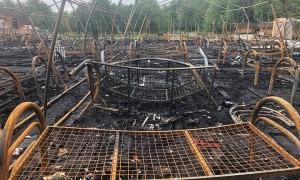 10-летний мальчик впал в кому, спасая девочек во время пожара в детском лагере под Хабаровском
