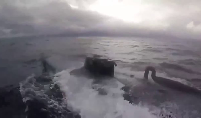 Береговая охрана США взяла на абордаж подлодку с 7 тоннами кокаина