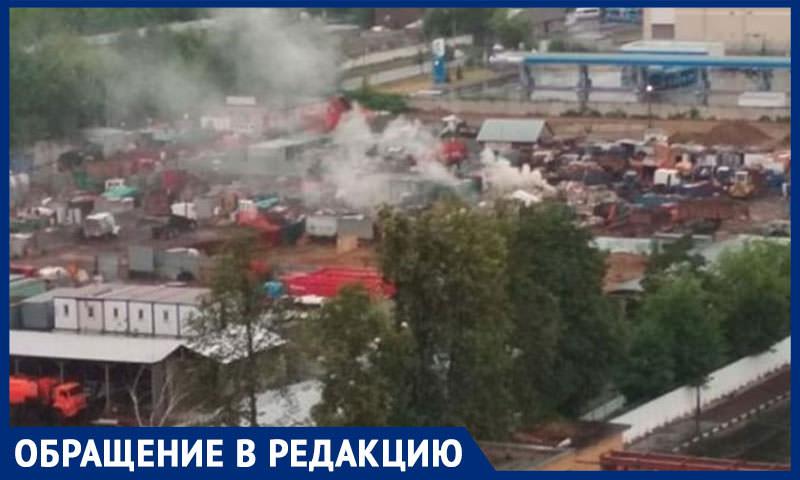 Военнослужащих заваливают мусором и травят гарью в 20 километрах от Кремля