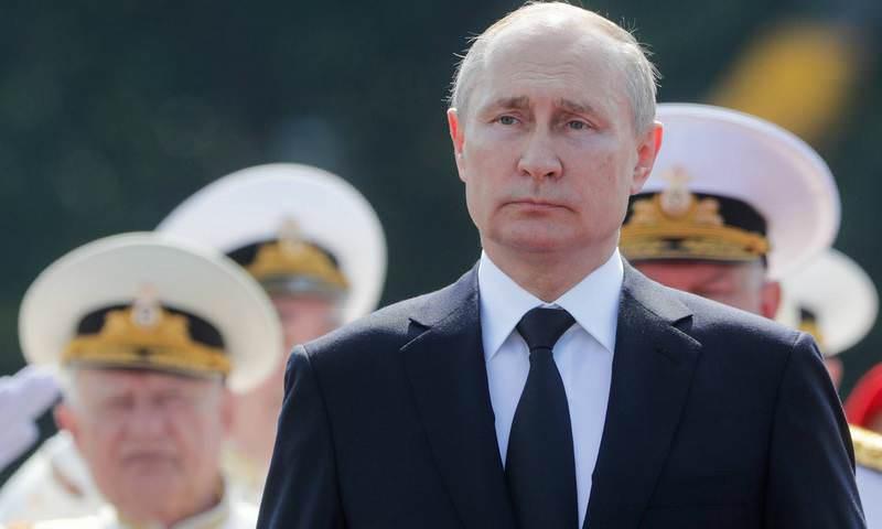 Путин заявил, что Военно-морской флот России способен дать отпор любому агрессору