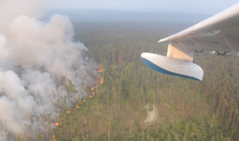 Проснулись. Лесные пожары в Сибири начали тушить