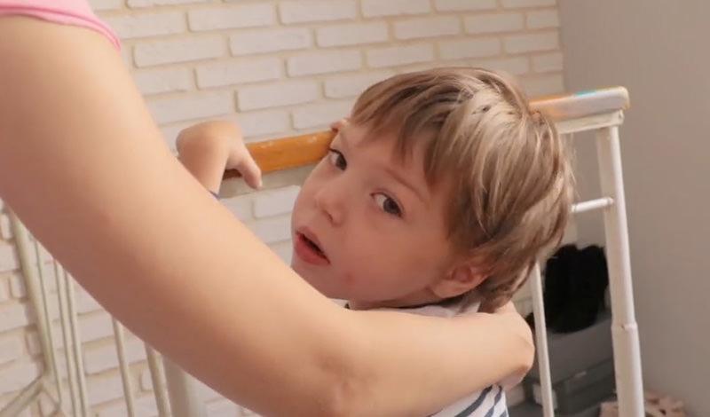 5-летний Вова Булавинцев пережил семь инсультов из-за редчайшей болезни