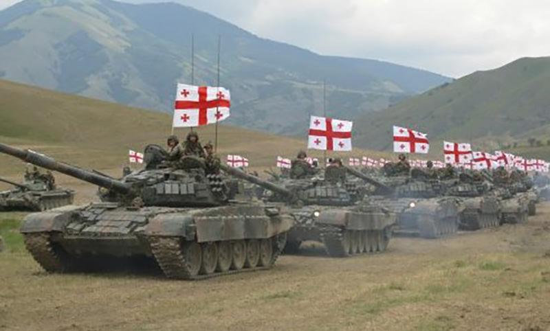 8 августа - Грузия напала на Южную Осетию