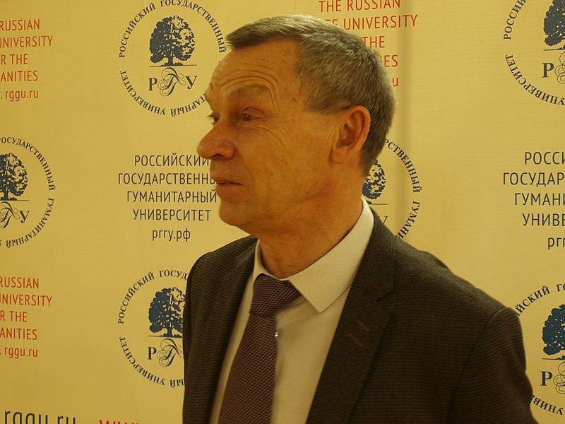 Ректор РГГУ Александр Безбородов. Авто фото: Бабкинъ Михаилъ / wikipedia.org