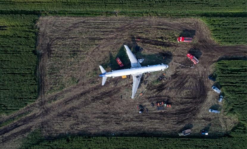 """А321 на кукурузном поле хотят превратить в """"памятник мужеству"""""""