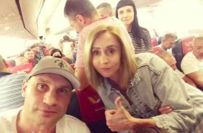 Кличко уехал из Украины