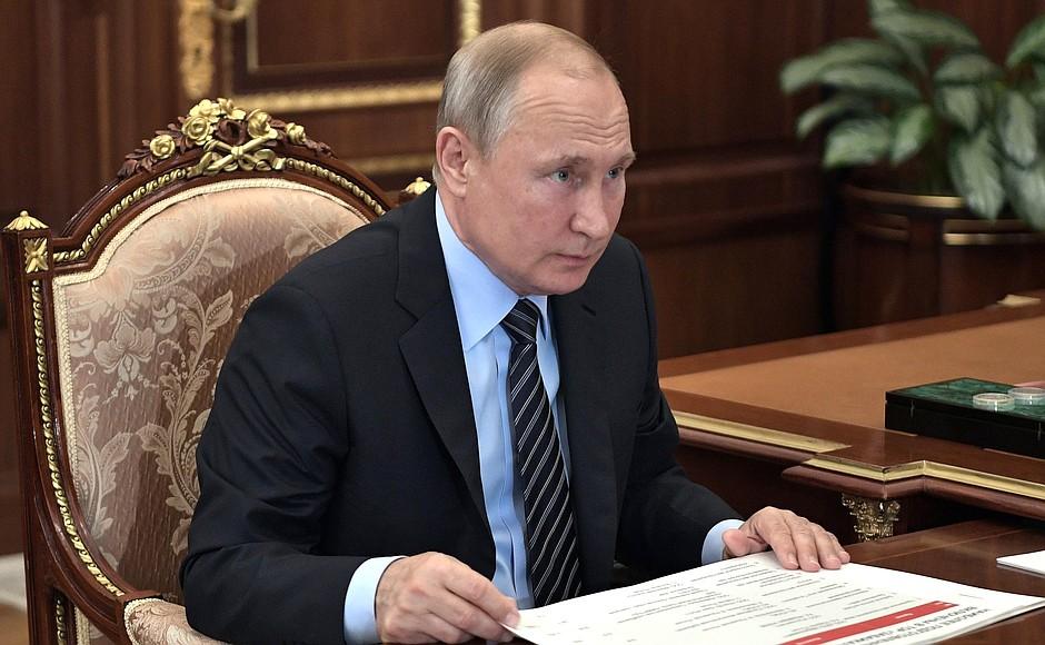 Путин подписал указ о выплатах пособий детям от 3 до 7 лет
