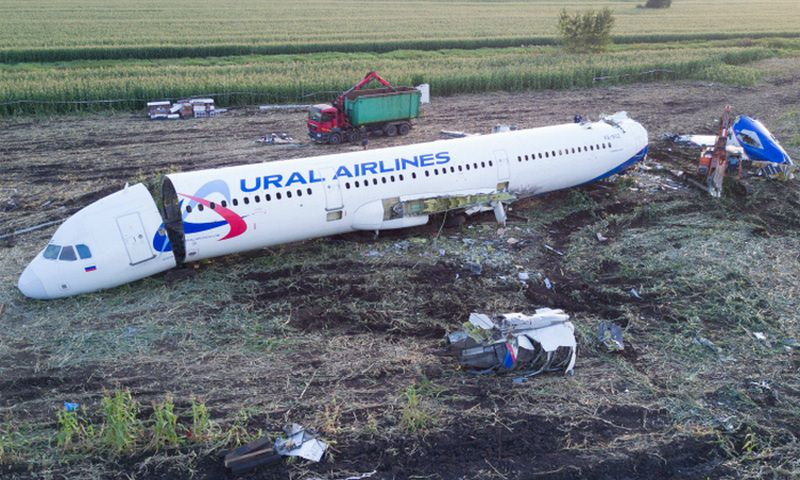 Три дня за одну минуту: в кукурузном поле разобрали A321
