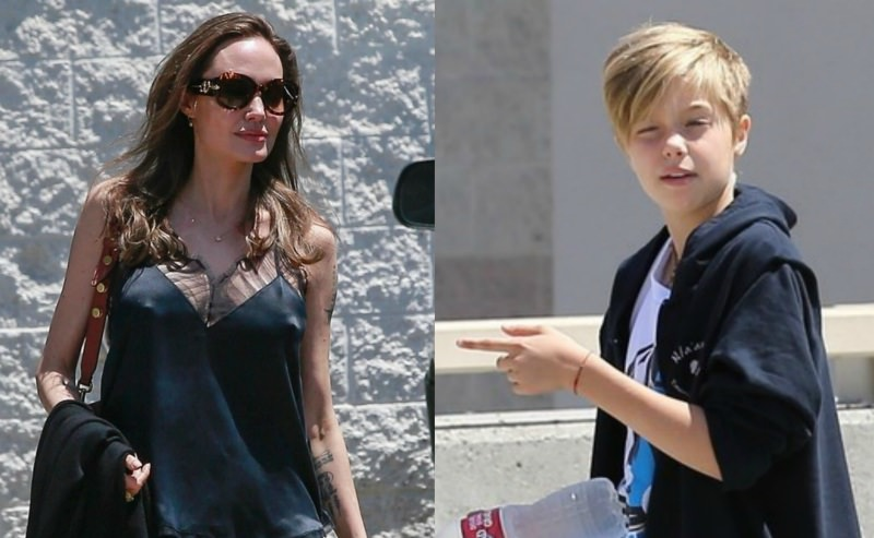 Меняющая пол дочь Анджелины Джоли бросила ее и съехала к Брэду Питту
