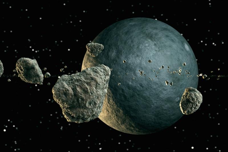 NASA: астероид размером с пирамиду Хеопса летит к Земле