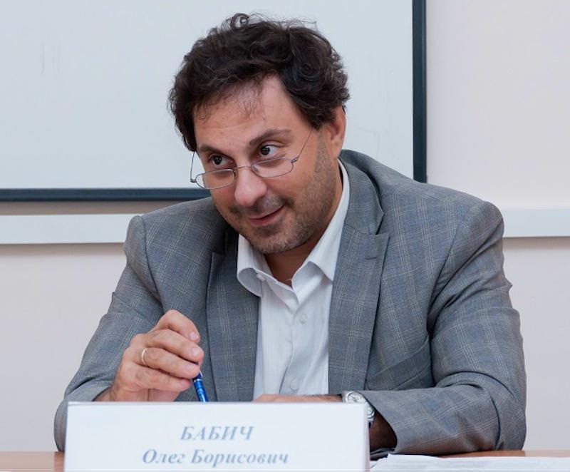 Глава руководитель правового департамента Конфедерации труда России Олег Бабич