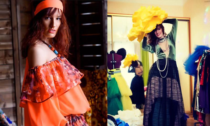 Наталья Трофименко,  дизайнер одежды и художник из Санкт-Петербурга