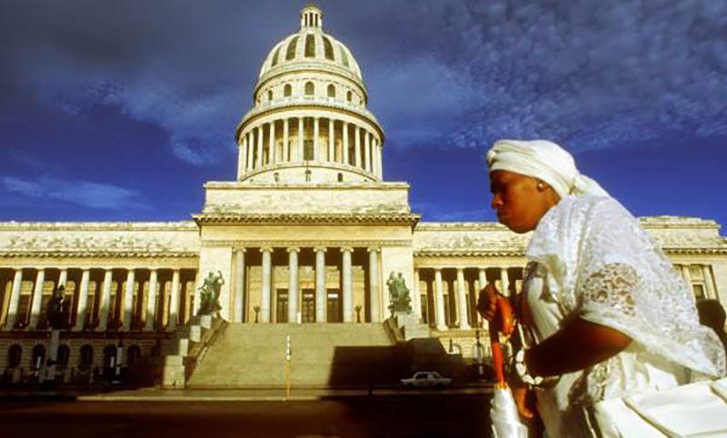 В столице Кубы при помощи России отреставрировали купол Капитолия