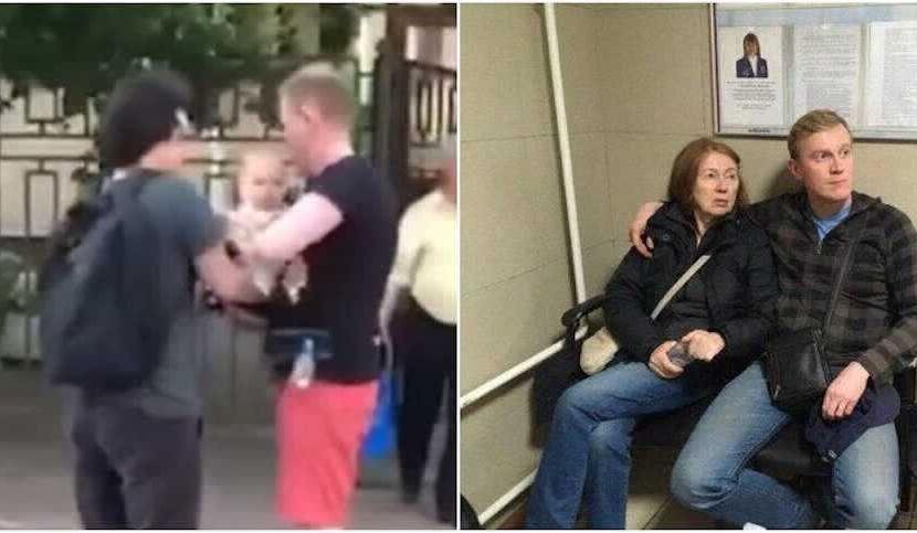 Мама за ручку привела в полицию оппозиционера Фомина сдаваться