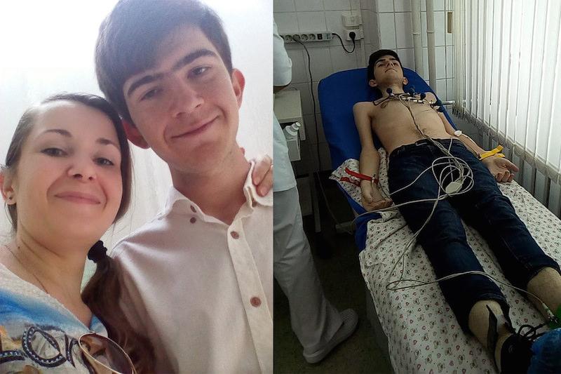 Женщина, сыну которой не могут сделать операцию, попросила у Путина российское гражданство