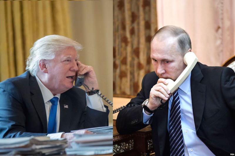 Трамп предложил Путину помощь в тушении пожаров