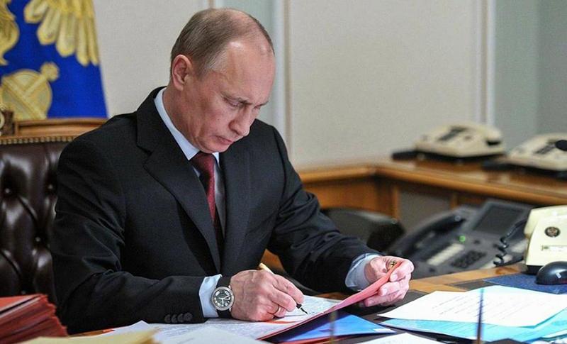 Путин подписал запрет  на продление ареста  бизнесменов без оснований