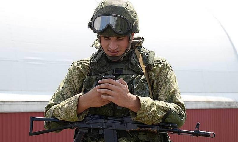 У российских военных появилась собственная сотовая связь