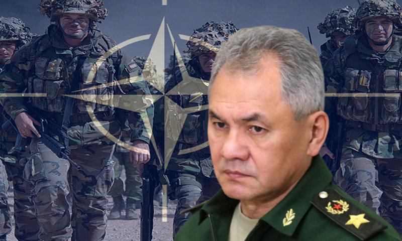 Шойгу рассказал о напряженной обстановке на западных границах России