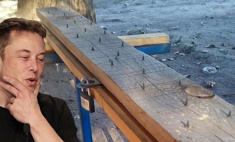 Ростовские бабушки изобрели скамейку на замке с саморезами против хулиганов и алкашей