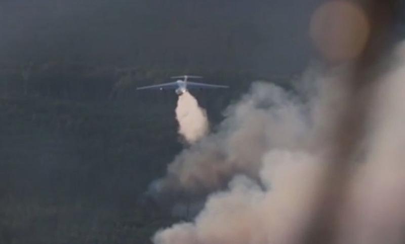 Авиация Минобороны потушила 84 лесных пожара за два дня