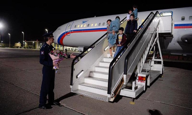 В Москву прибыл самолёт из Сирии с освобожденными детьми россиян