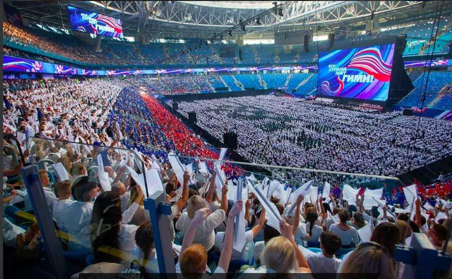Российский оркестр побил мировой рекорд блистательным исполнением гимна