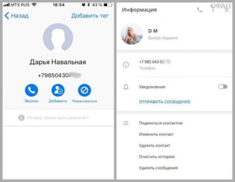 В Сеть слили переписку дочери Навального о сексе с женщинами и пристрастии к наркотикам