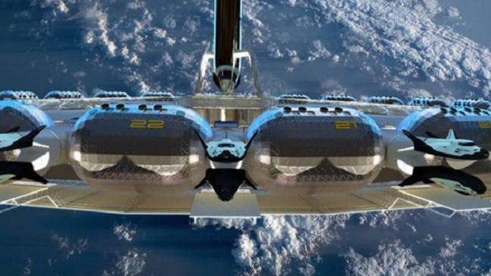 Разработчики показали, как будет выглядеть первый в мире космический отель