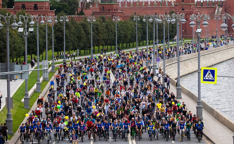В России начинается эксперимент по маркировке велосипедов